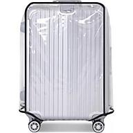 Combo 2 túi bọc vali trong suốt (chọn size) thumbnail