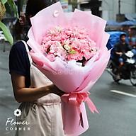 Bó hoa cẩm chướng hồng - Tuổi hồng thumbnail