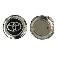 Logo chụp mâm, ốp lazang bánh sau xe ô tô Toyota Land Cruiser TY-196T, đời xe từ 2018-2020, bản 2016 VX, AT - Đường kính 9.5cm thumbnail