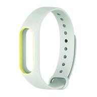 Follure New Luminous Silicon Soft Wrist Strap WristBand Replacement For XIAOMI MI Band 2 thumbnail