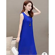 Váy bầu xinh thời trang màu xanh DN19072809 thumbnail
