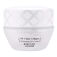 Kem Dưỡng Da Vùng Mắt 3W Clinic Collagen Whitening Eye Cream (35ml) thumbnail