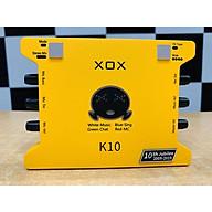 Soundcard Livestream XOX K10 10th phiên bản Tiếng Anh - Hàng chính hãng thumbnail