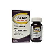 Thực phẩm bảo vệ sức khỏe BẢO CỐT OGABONE 40+ Giúp xương răng, chắc khỏe, hỗ trợ giảm nguy cơ loãng xương thumbnail