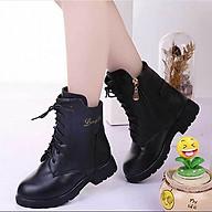Boot bé gái trẻ em thiết kế cao cổ phong cách Hàn Quốc - B10 thumbnail