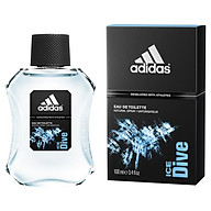 Adidas Ice Dive 100ml Eau De Toilette Spray thumbnail