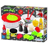 Đồ chơi mô hình ECOIFFIER Bộ đồ chơi salad rau củ 002579 thumbnail