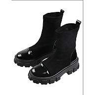 Giày Bốt Boot Nữ Độn Đế Da Lộn Cao Cấp Cá Tính MPS51 - Mery Shoes thumbnail