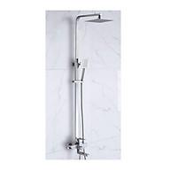 Bộ cây sen vòi tắm nóng lạnh SUS304 - Cần vuông, bát vuông thumbnail