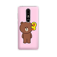 Ốp lưng dẻo cho điện thoại Nokia 6.1 plus X6 - 01171 7860 BROWN19 - Hàng Chính Hãng thumbnail