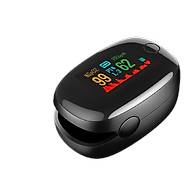 Máy đo nồng độ oxy PULSE A2 và nhịp tim kẹp ngón tay kỹ thuật số màn hình LED thumbnail