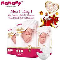 Combo 3 Bịch Tã Dán Mamamy Size S54-M46-L42-XL36 thumbnail