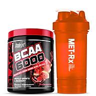 Combo Thực phẩm Hỗ trợ và Tăng trưởng Cơ bắp Nutrex BCAA 6000 - 30 liều dùng & Tặng kèm Bình nước 600ml (Màu ngẫu nhiên) thumbnail