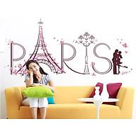 Decal dán tường tháp paris tình yêu sk9007 thumbnail