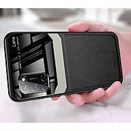 Ốp lưng da kính cao cấp hiệu Delicate dành cho OPPO A52 - Hàng nhập khẩu thumbnail