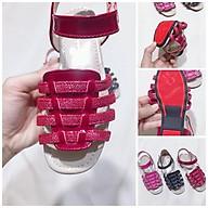 Dép sandal cho bé gái 00309 sz26-36 màu đỏ thumbnail