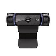 Logitech HD Pro Webcam C920 1080P 30fps Camera Widescreen Video Calling and Recording Desktop or Laptop Web Cam thumbnail