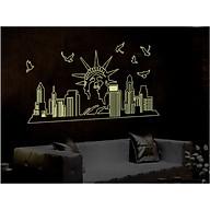 Decal dán tường dạ quang NEWYORK-ABQ9622 thumbnail
