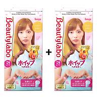 Thuốc Nhuộm Tóc Tạo Bọt Beautylabo Whip Hair Color Nhật Bản - Tặng Kèm 1 Hộp Thuốc Nhuộm Tóc thumbnail