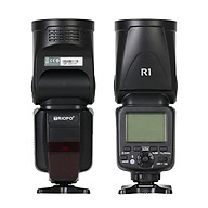 TRIOPO R1 Speedlite Flash Light Round Head 2.4G Wireless TTL 1 8000s 5600K Color Temperature 76Ws 16 Channels Comptible thumbnail