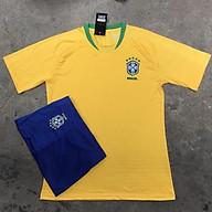 ( thun thái) bộ quần áo bóng đá Brazil thumbnail