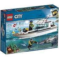 Đồ Chơi Lắp Ghép Thuyền Buồm Lặn Biển Lego City 60221 thumbnail