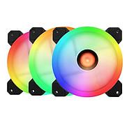 Bộ 3 Fan case RGB + Tặng Hub và Remote kèm vít thumbnail