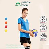 Bộ quần áo bóng đá quần áo cầu lông áo bóng chuyền nữ Vinapro B02 chất liệu thun mè kiểu cao cấp thumbnail