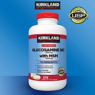 Thực phẩm chức năng bổ sung cho Xương Khớp. Kirkland Glucosamine HCl 1500mg with MSM (375 Viên) - Mỹ thumbnail