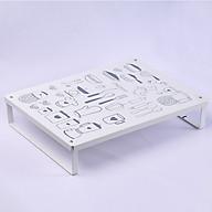 Kệ để nồi chảo và dụng cụ bếp (40x30x8cm) thumbnail