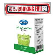 Combo Giấy bạc bọc thực phẩm Seven Cooking Foil (25cm x 4m) + Trà sữa Matcha Macca (Hộp 10 gói x 20g) thumbnail