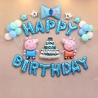 Sét bóng trang trí sinh nhật mẫu heo thumbnail