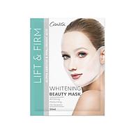 Mặt nạ trắng da Nâng cơ Tạo hình Vline Cenota Whitening Beauty Mask thumbnail