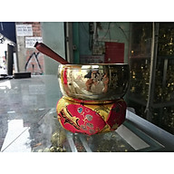 Chuông gõ vàng đường kính 13cm cao cấp thumbnail