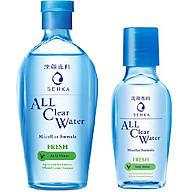 Combo Nước Tẩy Trang Sạch Thoáng Senka A.L.L.Clear Water Fresh 230ml Và 70ml thumbnail