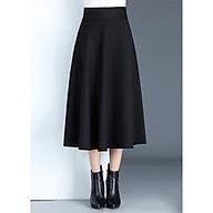 Chân váy xoè dài phong cách Hàn Quốc thời trang, duyên dáng thumbnail