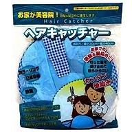 Áo choàng cắt tóc có khay hứng nội địa Nhật Bản - Giao màu ngẫu nhiên thumbnail