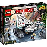 Đồ chơi lắp ráp mô hình LEGO NINJAGO Xe Tăng Băng 70616 thumbnail