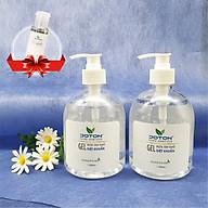 2 Gel rửa tay khô hương trà xanh 500ml chai Tặng 01 chai gel rửa tay khô 30ml - Joton Hand Sanitizer thumbnail