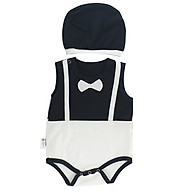 Bộ Bodysuit Chip Nón Hình Công Tử - Mihababy - BDS_PRINCE2 thumbnail