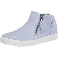 Ecco Women s Soft 7 Low Cut Zip Fashion Sneaker thumbnail