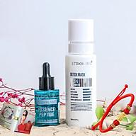 Combo Detox Blanc Thải độc Giảm mụn tận gốc Mặt nạ Detox mask và Serum mụn Lộc Đề Peel Acnes - Hỗ trợ giảm mụn bọc, mụn đầu đen(mẫu mới) - Tặng vòng Phong Thủy và mẫu test Nước hoa Charme Queen chính hãng thumbnail
