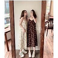 Váy maxi hoa ( kèm video thật ) thumbnail