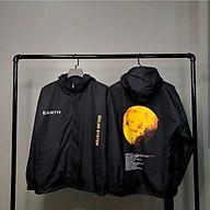 Áo khoác dù Chống Nắng 123SHOP dành cho nam nữ và cặp đôi In hình Trái Đất và Sao Hỏa, Form rộng ulzzang thumbnail