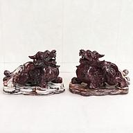 Tỳ hưu đá tự nhiên màu đỏ nặng 8 kg canxiden cho mệnh Thổ và hỏa. tihuudatunhien thumbnail