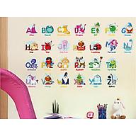decal dán tường cữ cái con vật xh6221 thumbnail