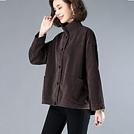 Áo khoác nữ nhung tăm form rộng ArcticHunter, thời trang trẻ, thương hiệu chính hãng thumbnail