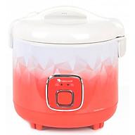 Nồi Cơm Điện Nắp Gài 2 Lít Happy Cook HC-200LX - Hàng Chính Hãng thumbnail