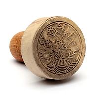 Dấu triện Liên Hoa 5 cm gỗ thumbnail