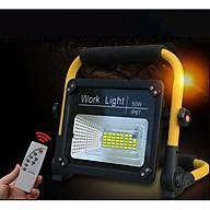 Đèn led siêu sáng sạc điện có ĐKTX 50W ( Tặng kèm 01 móc khóa tô vít đa năng ) thumbnail